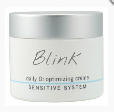 Blink Skincare Daily O2 Optimizing Creme Sensitive System