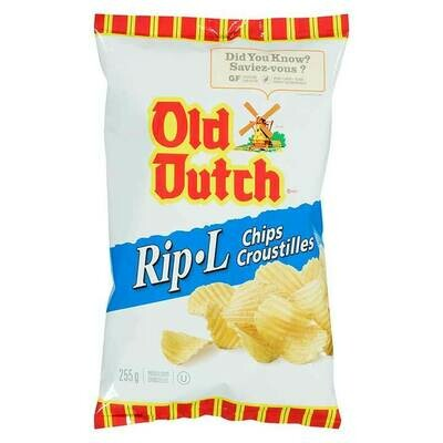 OLD DUTCH RIPPLE CHIPS (1 BAG 255g)