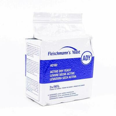 COMMERCIAL FLEISCHMANN'S ACTIVE DRY YEAST 200g (1 per order limit)