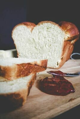 HALF LOAF SOUR DOUGH BREAD LARGE SLICES