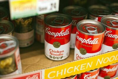 CAMPBELLS CHICKEN NOODLE SOUP 1 CAN