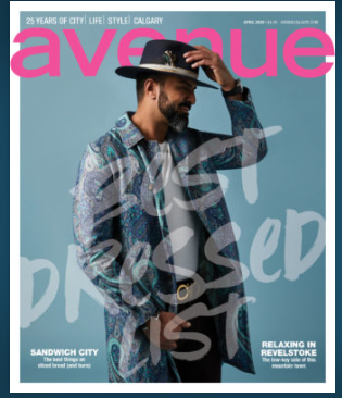 AVENUE MAGAZINE (FREE ADD TO YOUR ORDER)
