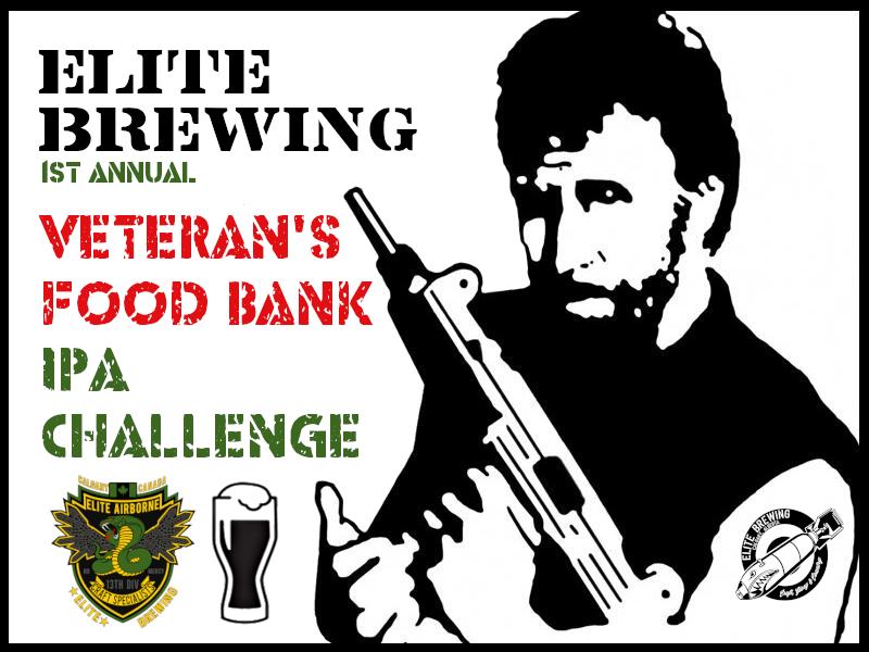 Elite Veterans Food Bank IPA Challenge (Pack 3 of 3)