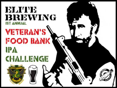 Elite Veterans Food Bank IPA Challenge (Pack 1 of 3)