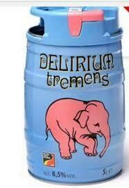 Delirium Tremens 5L Mini Keg