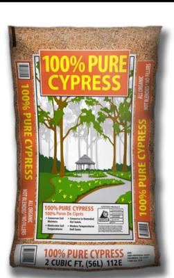 100% Pure Cypress (1 Cu Yd), bulk