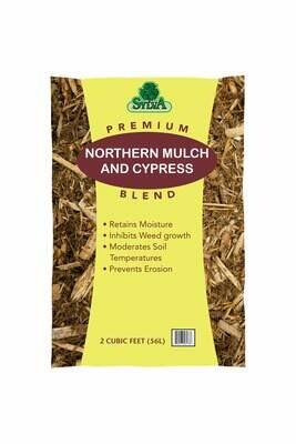 Northwoods & Cypress Mulch Blend 2 Cu Ft Bags