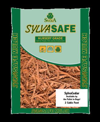 SylvaCedar™ Shredded Mulch, 2 Cu Ft Bags