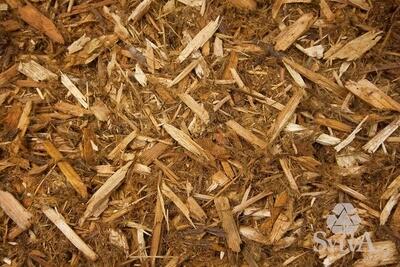 Northern Cedar Shredded (1 Cu Yd), bulk