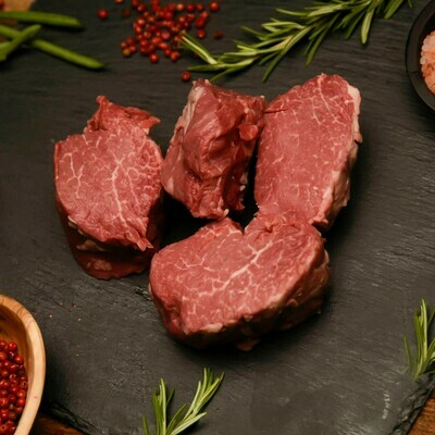 New Sweet Grass Beef- Mock Tender 8oz Steak. Frozen