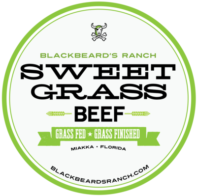 Blackbeard's Sweet Grass Decadent Burger Blend 1 lb.