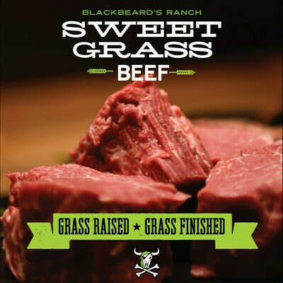Blackbeard's Sweet Grass Boneless New York Strip 12oz. Frozen.