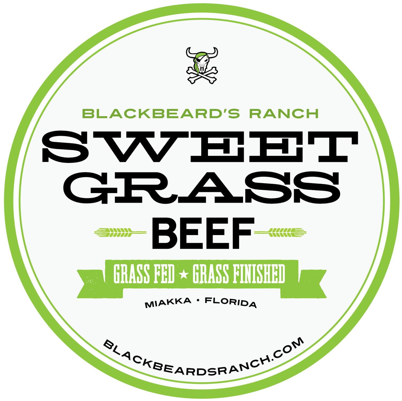 New Sweet Grass Beef- Round Roast Avg. 4lb. Fresh.