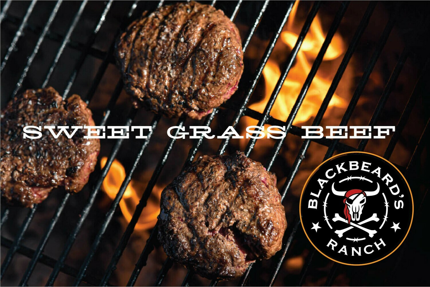 New Sweet Grass Beef- Ground 80/20 - 1lb. Frozen. Special Price!