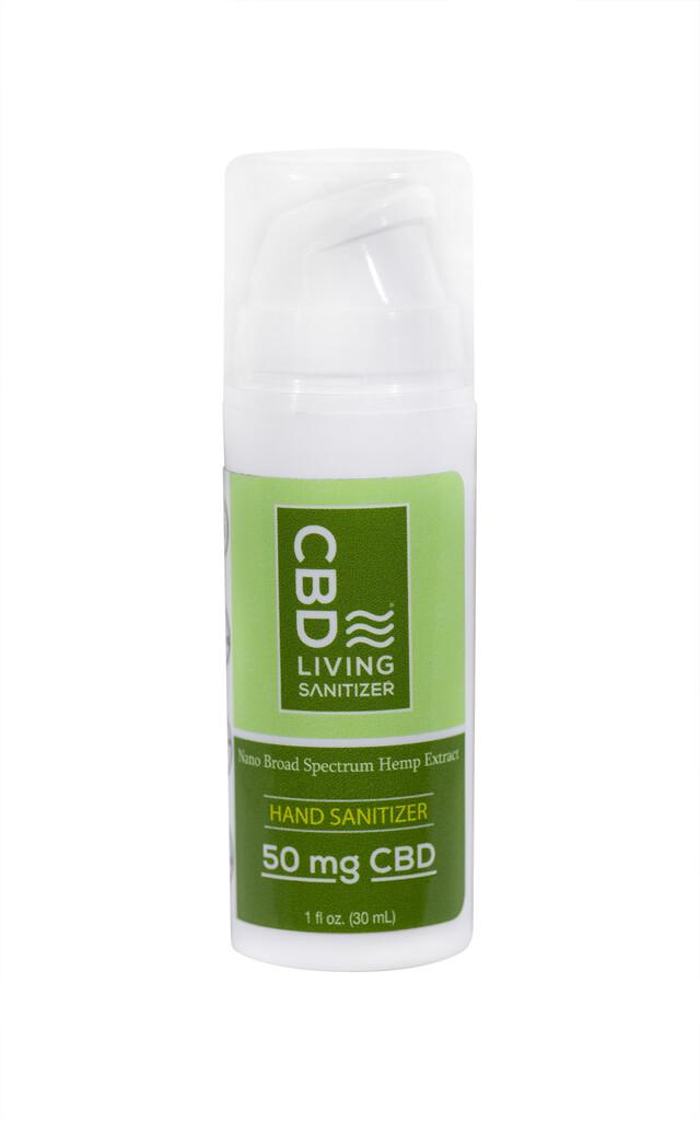 CBD Living - Gel Hydroalcoolique 30ml