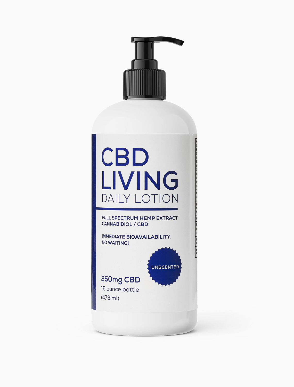 CBD Living - Lotion Unscented