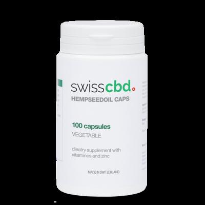 Swiss Cannabis - Gélules d'huile de chanvre 810mg