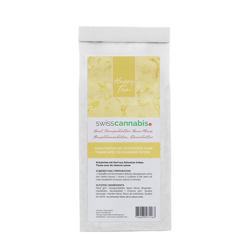 Swiss Cannabis - Tisane de chanvre 50gr