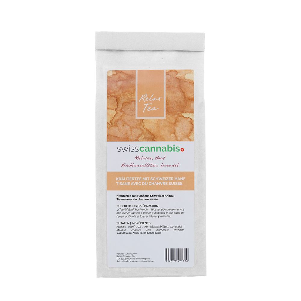 Swiss Cannabis - Tisane de chanvre Relax 50gr