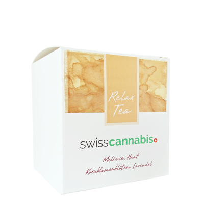 Swiss Cannabis - Tisane de chanvre Relax 20 sachets