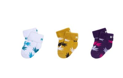 HUF - Chaussettes X3 pour bébés PLANTLIFE
