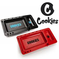 Cookies - Red and black rolling tray