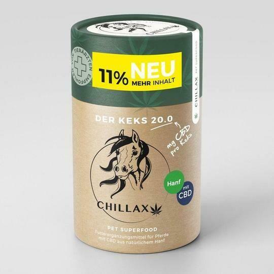Chillax - Croquettes chanvre pour cheval