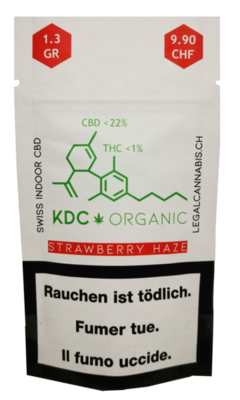 KDC Organic - Strawberry Haze