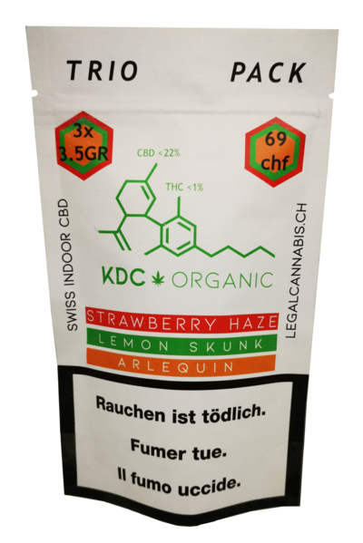 KDC Organic - Trio Pack