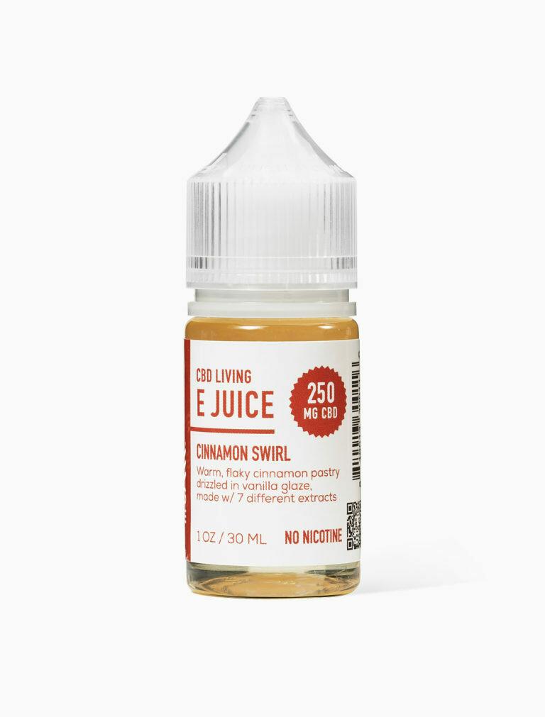 CBD Living - E-Liquid Cinnamon Swirl 250mg
