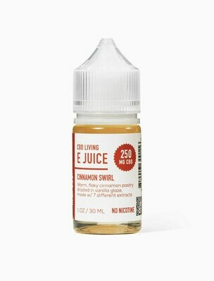 CBD Living - E-Liquid Cinnamon Swirl 250mg