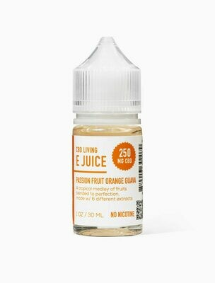 CBD Living - E-Liquid Passion Fruit Orange Guava 250mg