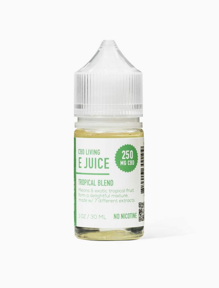 CBD Living - E-Liquid Tropical Blend 250mg