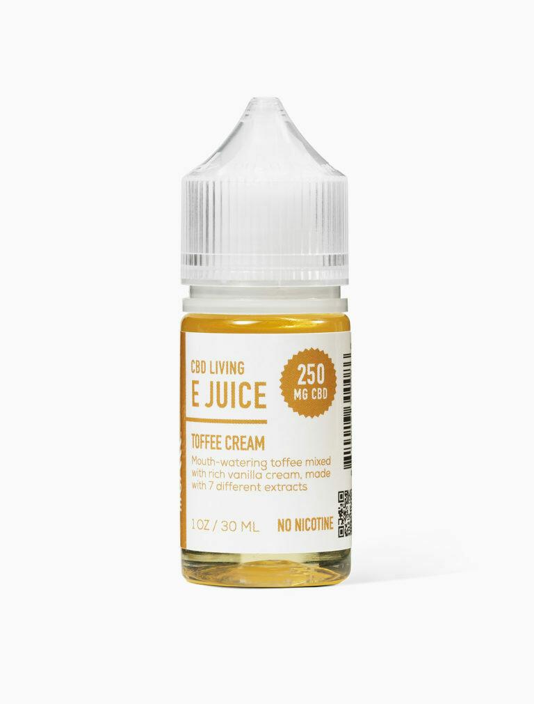 CBD Living - E-Liquid Toffee Cream 250mg