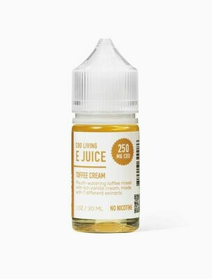 CBD Living - E-Liquid Toffee Cream 250mg