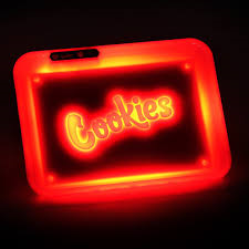 Glow Tray - Cookies (Red/Rouge)