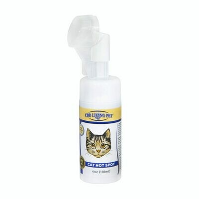 CBD Living - Mousse anti-irritations pour chat