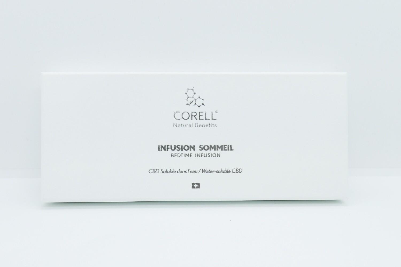 CORELL - Infusion CBD 'Sommeil' par nano émulsion (10 sachets)