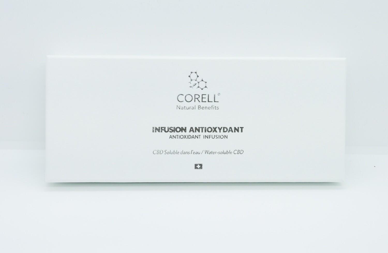CORELL - Infusion CBD 'Antioxydant' par nano émulsion (10 sachets)