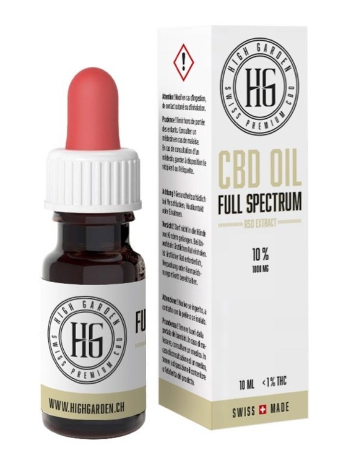 High Garden - Huile de CBD 20% FULL SPECTRUM