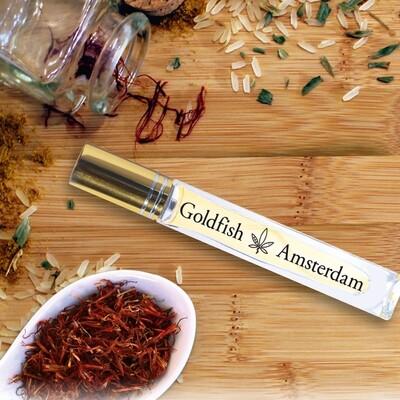 Goldfish Amsterdam - Huile 5% Safran
