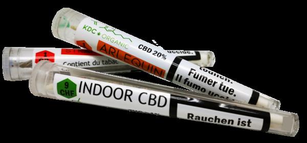 KDC Organic - cigarettes pré-roulées 1gr