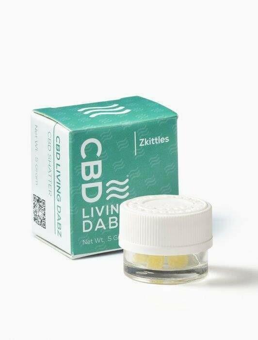 CBD Living - Dabz Shatter Zkittlez 500mg