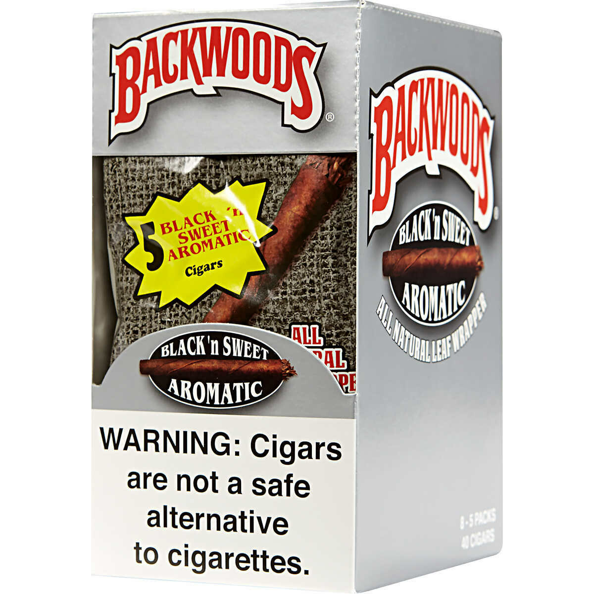 Backwoods - Black and Sweet aromatic