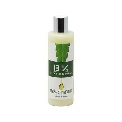 BioKonopia - Apres-Shampoing à l'huile de chanvre 250ml
