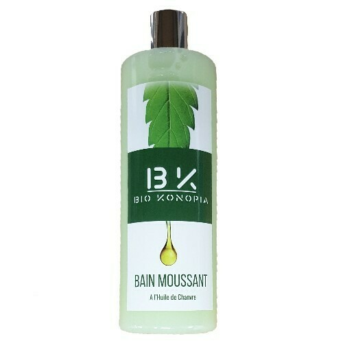 BioKonopia - Bain moussant à l'huile de chanvre 400ml