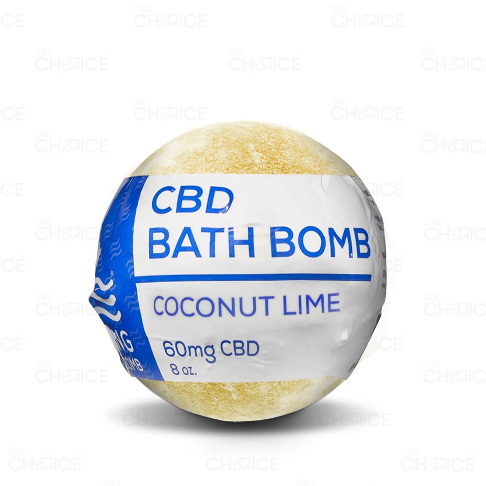 CBD Living - Bath Bomb Coconut Lime