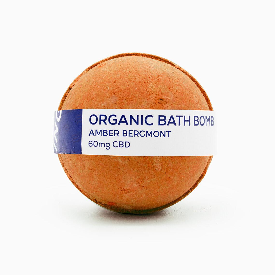 CBD Living - Bath Bomb Amber Bergamot