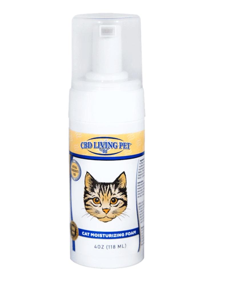 CBD Living - Cat moisturizing foam