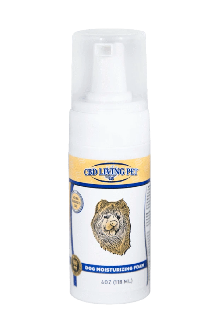 CBD Living - Dog moisturizing foam